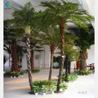 Buy cheap Greenery Fibre Artificial Palm Trees For Landscaping Decoration Various Size product