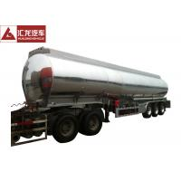 Buy cheap ADR Standard Fuel Tank Trailer Polished 4 Seamless Steel Tube Air Bag Suspension product