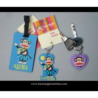 Buy cheap hot selling promotion gifts cartoon luggage tag, soft pvc luggage tag, id card luggage tag product