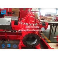 Buy cheap Red Color Diesel Engine Fire Pump / Fire Fighting Pumps 1500gpm @ 125-135PSI product