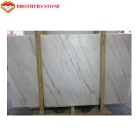 Buy cheap Custom Size White Marble Stone Flooring With 11.5Mpa Bending Resistance product