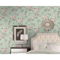 Buy cheap Eco - Friendly European Style Wallpaper Fancy Floral Pattern Chinese Factory product