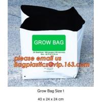 Buy cheap cultivating bags, 100% biodegradable various Wholesale Poly Black Square Garden Plastic Baby Flower Plant Nursery Poly B product
