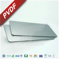 Buy cheap High Rigidity Aluminium Composite Metal Panel With PE PVDF Coating For Construction product