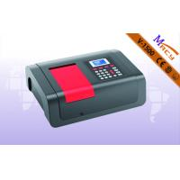 Buy cheap High Accuancy Test  Visible Spectrophotometer Of Model V-1500PC With Colorful Software Function product
