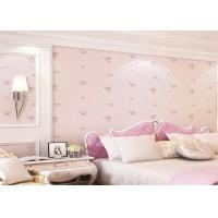 Buy cheap Lovely And Dreamlike Rose Childrens Bedroom Wallpaper Contemporary Romatic Style product