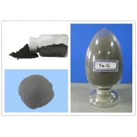 Buy cheap Si 45% Gray Ferro Silicon Powder / Water Atomization Metal Powder Iron Casting Without Lump product