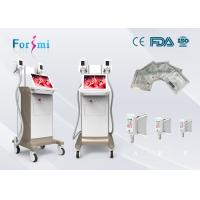 Buy cheap Fat removal cellulite machine on sale promotion 2 cryo handles working together 1800W power 15 inch touch screen product