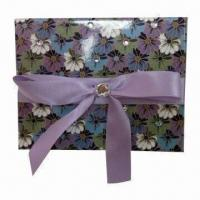 Buy cheap Paper Gift Box with Ribbon, Customized Specifications are Accepted product