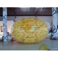 Buy cheap Gaint Inflatable Melon Fruit Shaped Balloons UV Printing 4m Long product