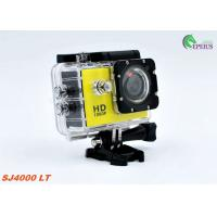 "Portable Mini DV 1080P HD Action Camera SJ4000 120 Degree With 1.5"" LTPS LCD Display"