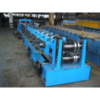 Buy cheap C Purlin Roll Forming Equipment  / Cold Roll Forming Machine with Gearbox Drive for Steel C Purlin product