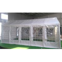 Buy cheap Luxury Marquee Tents 6x12 M With Strong 200gsm PE White Tarpaulin Party Tent With Fully Galvanised & Bolted Steel Frame product