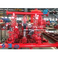 Buy cheap UL FM Approved Skid Mounted Fire Pump Package Ductile Cast Iron Materials product