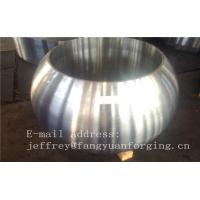 Buy cheap Spherical Size Rough Turned Valve Forging ASTM A105 F304 F316 F51 F53 F60 product