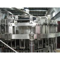 Buy cheap PET Plastic Bottled Carbonated Drinks Filling Machine , Carbonated Drink Production Line product