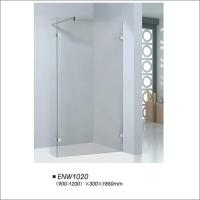 Buy cheap Reliable Frameless Shower Doors With 6mm Clear Tempered Glass Material product