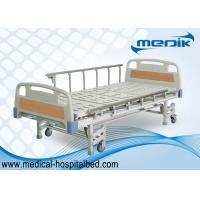 China ISO approved Patient Hospital Beds With Three Crank Multifunction ICU Medical Bed wholesale