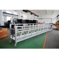 Buy cheap ZLP Series Steel Lift Scaffolding Suspended Platform Cradle adjustable for High - rise building product