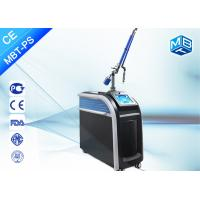 China Painless Q Switch Picosecond Laser Tattoo Removal Equipment , Picosecond Aesthetic Laser Machine wholesale