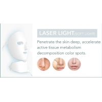 Buy cheap ABS OEM ODM Facial LED Mask Skin Wrinkle Removal product