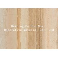 Buy cheap Durable PET Hot Stamping Film , Wood Grain Hydrographic Film Damp Proof product