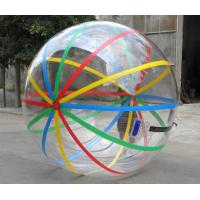 Quality Kids Inflatable Pool Accessproes Water Ball with Color Strips for Play for sale