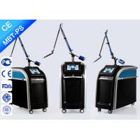 China Professional Picosecond Laser Tattoo Removal 755nm 1064nm 532nm 1-10hz Frequency wholesale