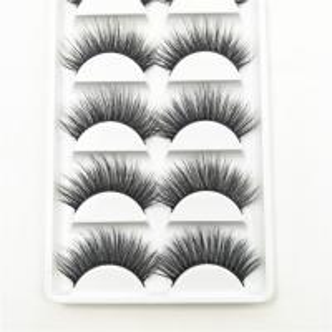 Buy cheap 3d 4D 5D Mink Fake Eyelashes Cruelty Free Faux Mink Eyelash Bar 10~15 Mm Length product