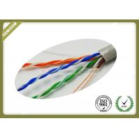 Buy cheap 305m / Roll Cat5e UTP Network Cable 4 * 2 * 0.45mm Pass Fluke Test With Real OD product