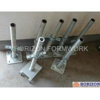 Buy cheap Q235 Steel Scaffold Screw Jack , Scaffolding Adjustable Base JackPainted Surface product