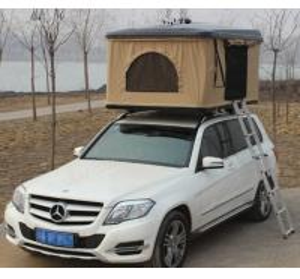 Buy cheap Fiberglass Hard Shell Pop Up Tent , Truck Bed Hard Top Tent With Sponge Mat product