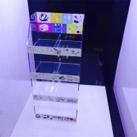 Buy cheap clear acrylic mobile accessories display stand with sticker product