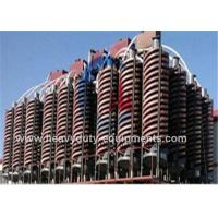 Buy cheap Sinomtp Gravity Separation Equipment Spiral Chute 900, 720, 540mm Screw Pitch product