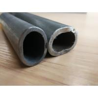 Buy cheap 180# Stainless Steel Tube Not Perforated , Oval Grooved Tubes 800G Mirror Finish product