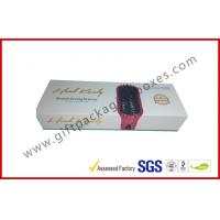 China Magnetic gift boxes for hair extension , 1500g Hard board box with logo embossed and foiled wholesale