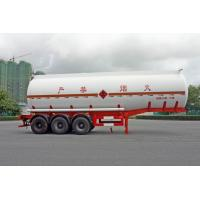 Buy cheap 2 Axles Oil Tank Trailer 28600L , Fuel Tanker Semi Trailer 28.6CBM 10000×2490×3350 product