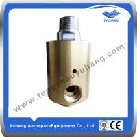 Buy cheap Copper rotary joint, hydraulic rotary joint, high speed rotary union,water swivel joint product