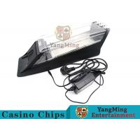 Buy cheap Electric Control Casino Card Shoe Built - In High Speed Recognition Sensor product