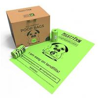 China Durable Earth Friendly Trash Bags , Biodegradable Plastic Bags For Pet Waste on sale