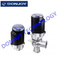 SS304 / SS316L Intelligent Electric Control Valve With Intelligent Positioner / Controller
