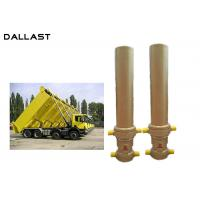 Buy cheap 3 / 4 Stage Telescopic Dump Truck Lifting Hydraulic Hoist Cylinder product