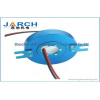 IP65 10mm Thickness through hole slip ring For Laboratory equipment