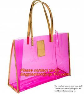 Buy cheap moisture proof eva school bag pu shoulder bag flat handle plastic bag, eve handle bags, pvc handle bags, striated bag wi product