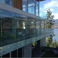 Buy cheap Easy Installation 304 Stainless Steel Frameless Glass Standoff Railing / Wall Mounted Glass Standoff product