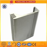 Buy cheap Silver / Bronze Aluminum Extrusion Profiles For Building Heat Insulation product