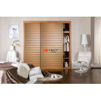 Buy cheap Bathroom / Bedroom Closet Sliding Louver Door PVC Shutter Doors 710-850kgs/m3 product