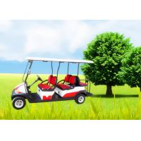 Buy cheap Big Tyre 6 Seater Golf Cart , Street Legal Electric Golf Carts Ce Approved product