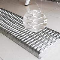 Buy cheap Stainless Steel Galvanized Steel Grating Anti Slip Diamond Safety Grating For Walkways product