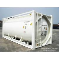 Buy cheap 20FT TANK CONTAINER FOR BULK CEMENT  for sale Portable iso Tank Container  WhatsApp:8615271357675  Skype:tomsongking product